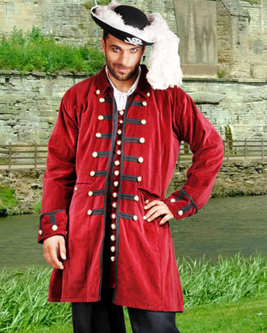 Captain Benjamin Pirate Coat