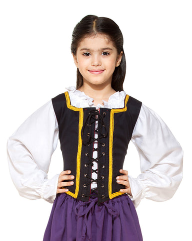 Reversible pirate Bodice