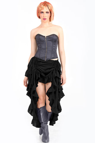 Steampunk Showgirl Skirt