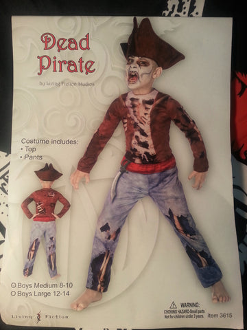Dead Pirate Boys Costume