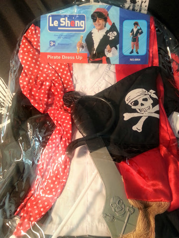 Deluxe Childrens Pirate Costume Set
