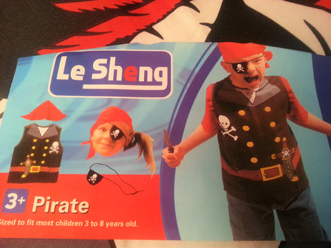 Pirate Vest For Pirates 3-7 Years