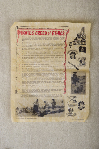 Pirates Creed of Ethics