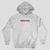 Passport life of leisure Embroidery Hoodie Grey