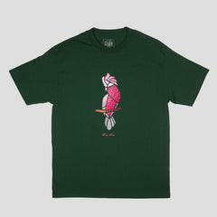 Passport glass gallah t-shirt forest green