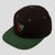 Passport life of leisure snapback cap Forest green/black