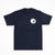Spares store Til the wheels fall off t-shirt NAVY