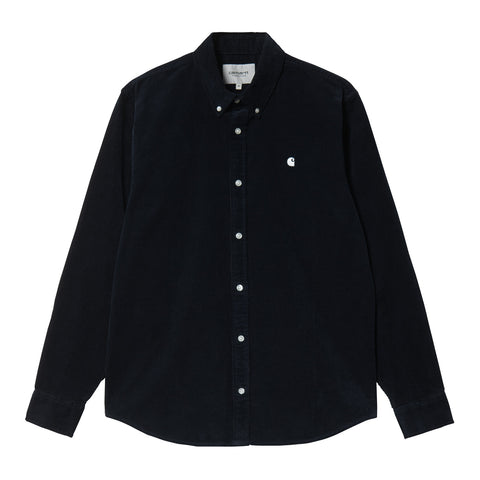 Carhartt Madison logo cap Chrome green/Merlot