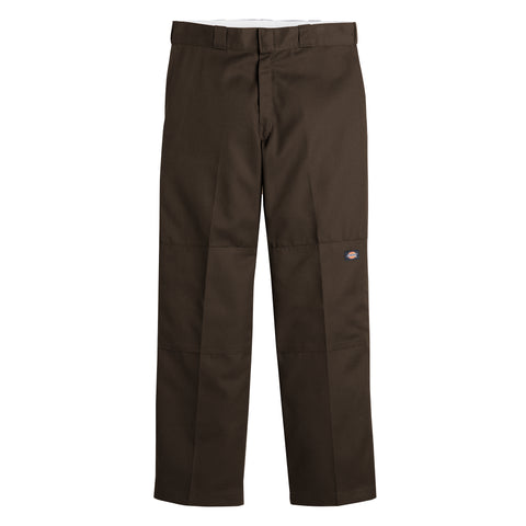 Dickies Loose fit double knee work Dark brown