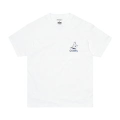 Carhartt x Ghostly t-shirt white