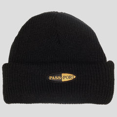 Passport Pharmy beanie Black