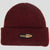 Passport Pharmy patch beanie Burgundy