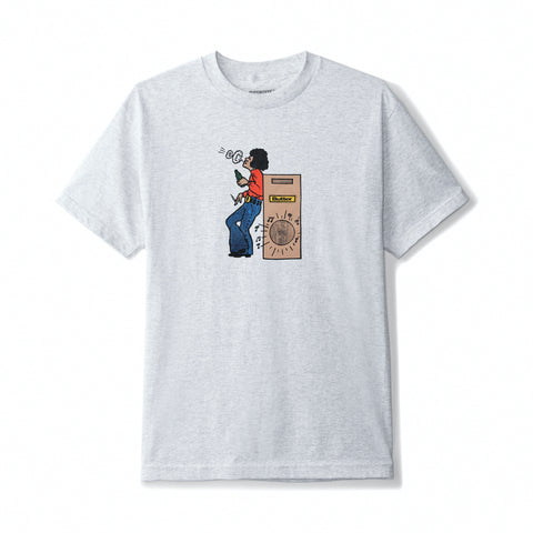 Buttergoods Round beat t-shirt ash heather grey