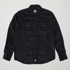 Dickies Sonora corduroy button up shirt black