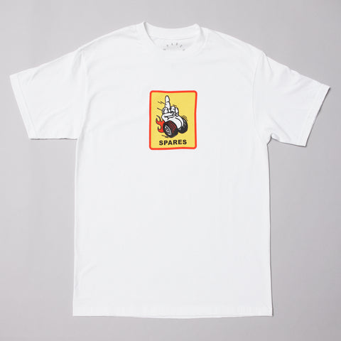 Sparesstore rear view t-shirt White