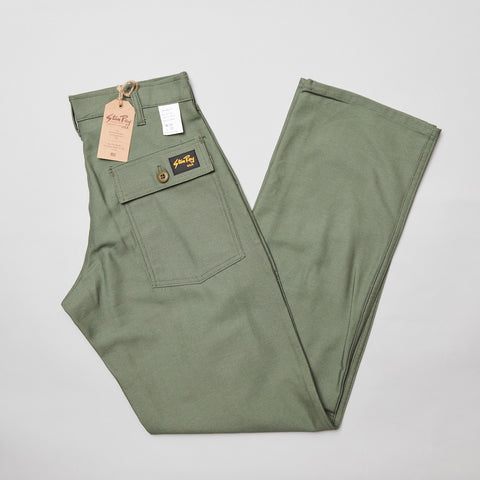 Stan ray OG fit 4 pocket fatigue pant Olive sateen