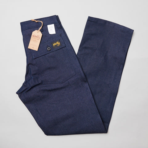 Stan ray loose fit fatigue pant indigo denim