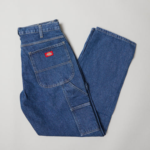 Dickies 1993 Relaxed fit carpenter jean stone washed indigo blue