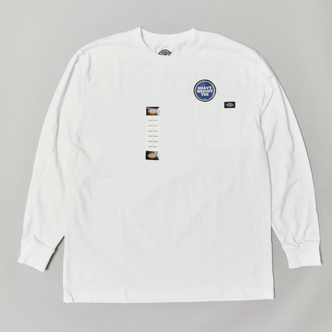 Dickies heavyweight L/S t-shirt white