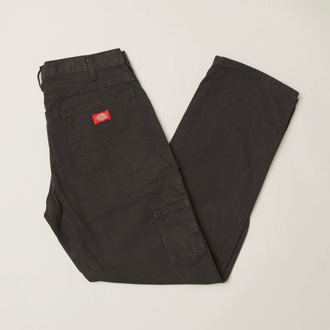 Dickies 1939 relaxed fit duck jeans rinsed black