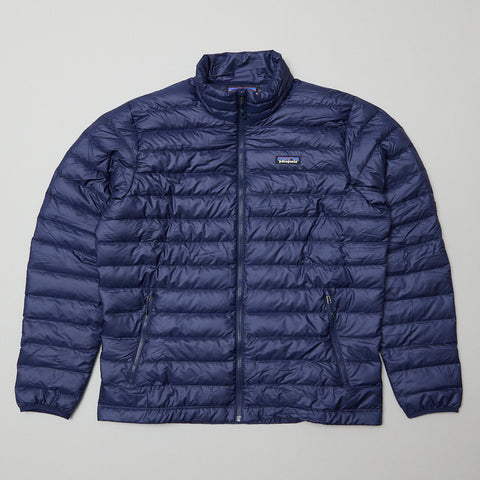 Patagonia down sweater navy