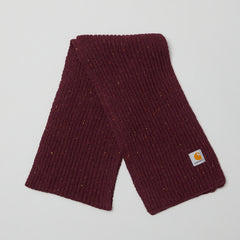 Carhartt Angelistic scarf Merlot  heather