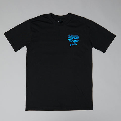 Sparesstore signature service t-shirt black/blue