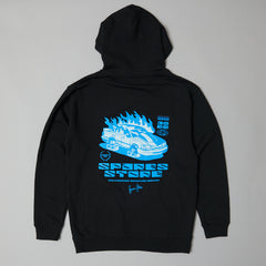 Sparesstore signature series Hoodie Black/blue