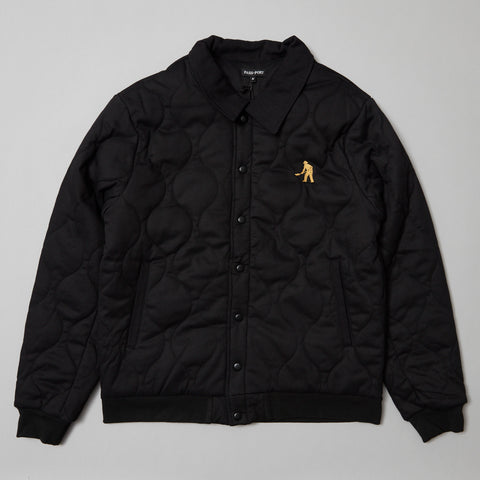 Passport Late quilted Jacket Black