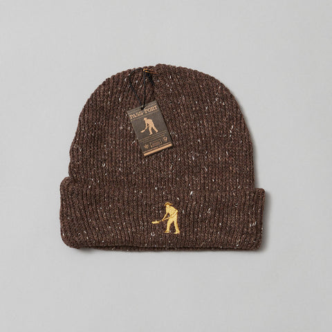 Passport workers beanie chocolate speckle