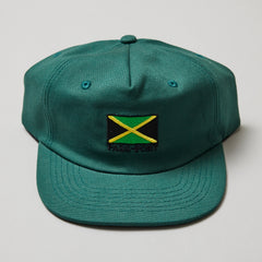 Passport Jamaica snapback green