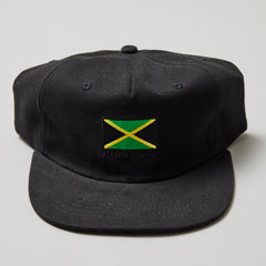Passport jamaica snapback cap black