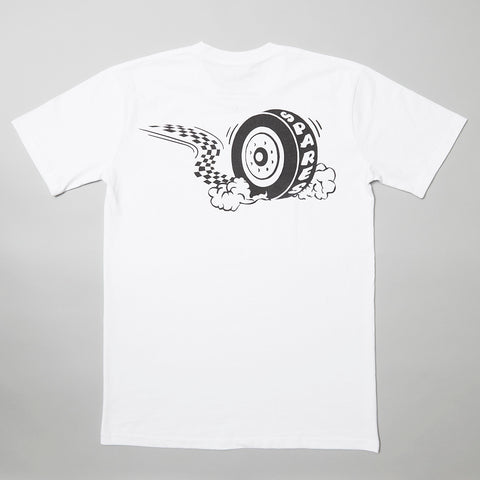 Sparesstore Burnout t-shirt white
