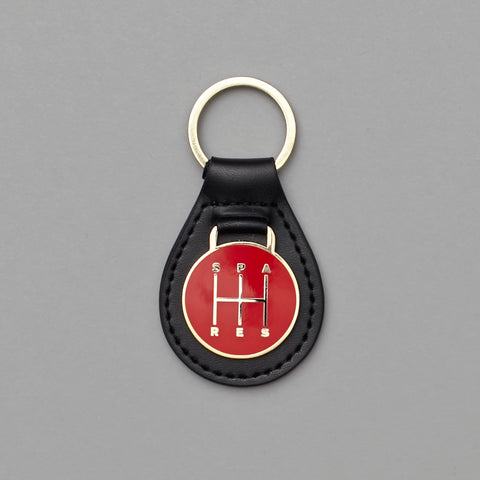 Sparesstore shifter keyring red/gold