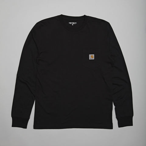Carhartt L/S pocket t-shirt Black