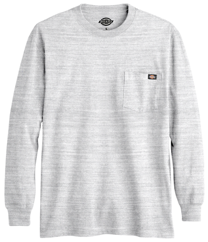 Dickies L/s Heavyweight tee ash heather grey