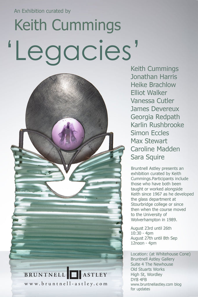 Keith Cummings 'Legacies' Exhibition Aug 2019