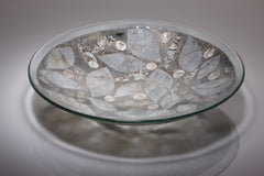 Wendy Newhofer 5.	Frozen leaves bowl, 370 x 70 mm. retail price £350