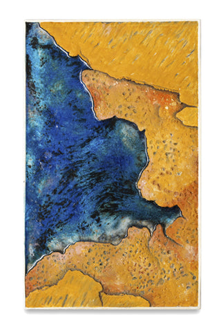 Picture of Abstract Orange & Blue