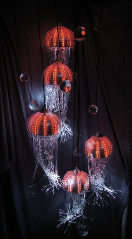 Picture of Jellyfish Chandelier