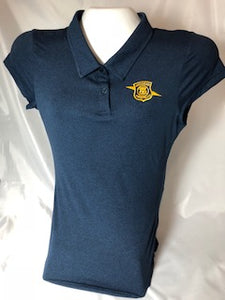 Womens Coollast Blue Polo