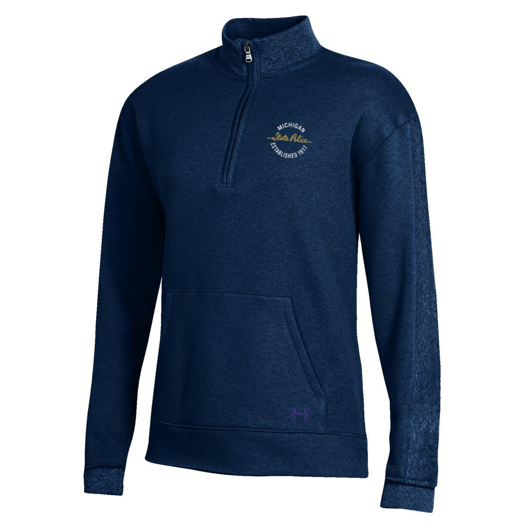 Womens UA Navy 1/4 Zip