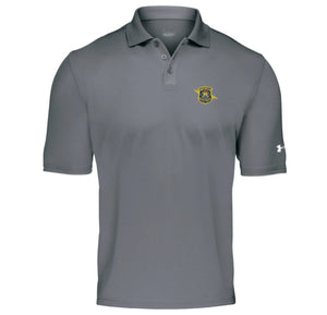 Mens UA Gray Polo