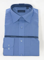 Peter England Shirt - Blue