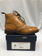 Loake Burford Tan F Fit Dainite Rubber Sole