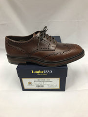 Loake Chester Brown Dainite Rubber Sole