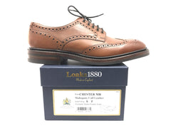Loake Chester Mahogany Dainite Rubber Sole