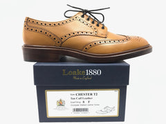 Loake Chester Tan Leather Sole