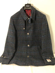 Brook Taverner Harris Tweed Short Coat