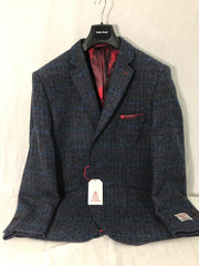Brook Taverner Blue Harris Tweed Jacket